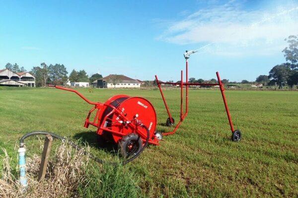 Aprenda a utilizar o carretel de irrigação irrigat
