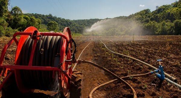 Carretel de irrigação da IRRIGAT