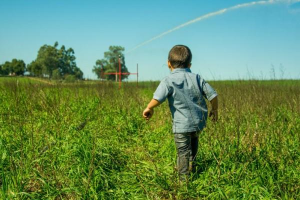Criança no Campo