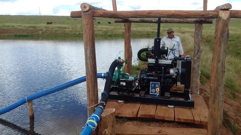Fertirrigação e irrigação