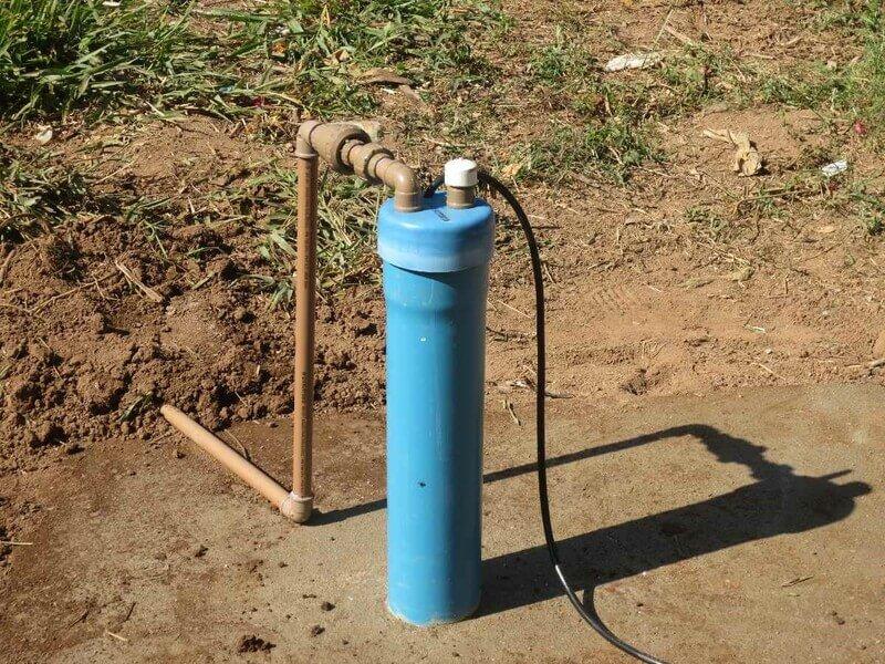 Poço artesiano para irrigação