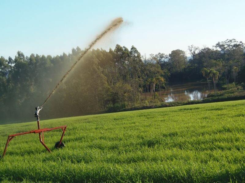 Carrinho de irrigação da IRRIGAT