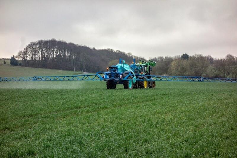 Uso de fertilizantes na irrigação