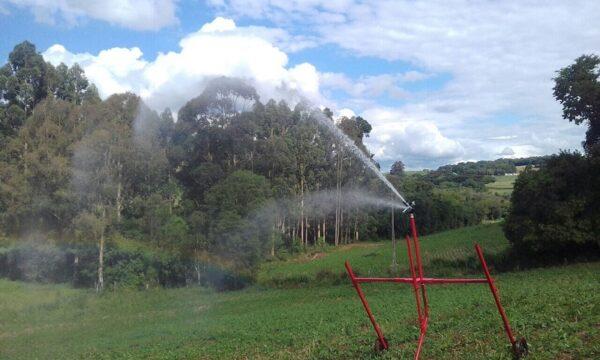 São muitas as vantagens de usar irrigação na soja